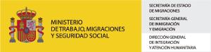 Logo del Ministerio de Trabajo, Migraciones y Seguridad Social