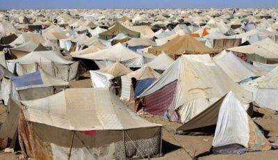 Imagen de un campo de refugiados del Sáhara