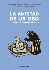 Portada del libro La amistad de un oso