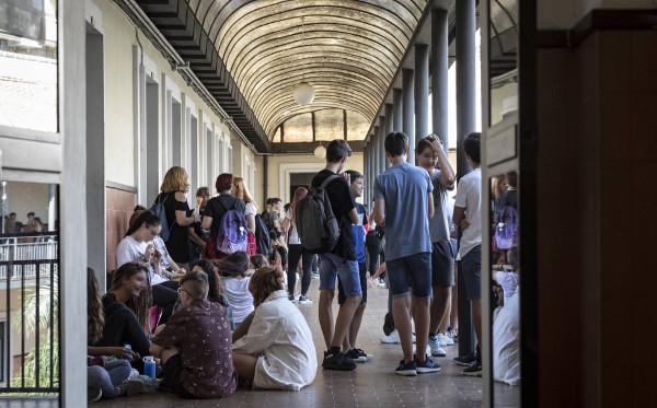 Imagen de los pasillos del Instituto Luis Vives de Valencia