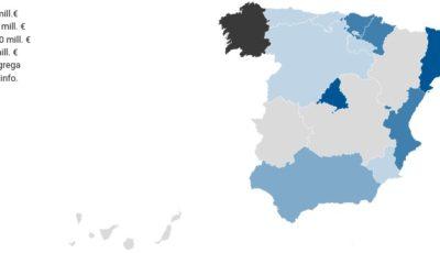 mapa dinero público destinado a centros que segregan