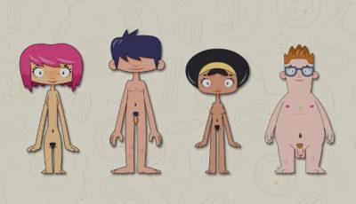 Imagen de la serie de dibujos sobre sexualidad