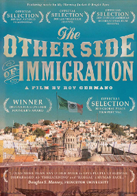 Cartel del documental El otro lado de la inmigración