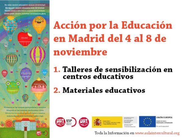 Tarjeta presentación Semanas Acción Madrid
