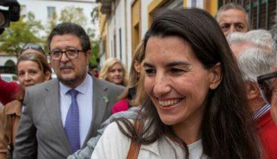 Rocío Monasterio y Francisco Serrano