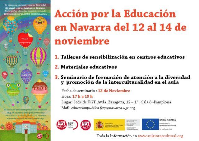 Cartel de la Semana de Acción por la Educación