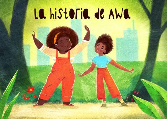 Imagen del libro musical La historia de Awa
