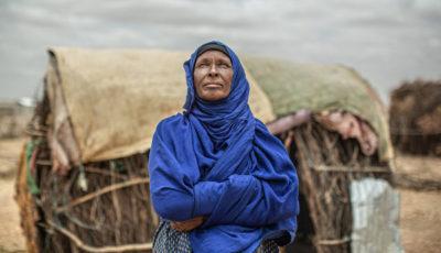 Amina, una desplazada etíope