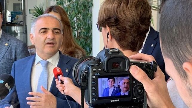 Imagen del Delegado de Educación en Granada