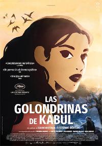 Cartel de la película Las golondrinas de Kabul