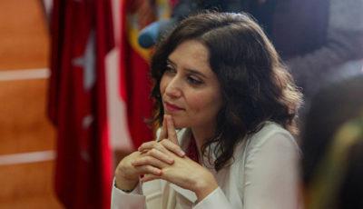 Imagen de la presidenta de la Comunidad de Madrid