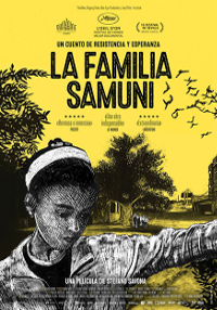 Cartel del documental La damilia Samuni