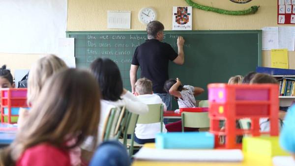 Imagen de una clase de un colegio de Madrid