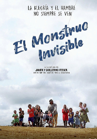 Cartel del documental El monstruo invisible