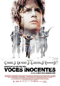 Cartel de la película Voces Inoncentes