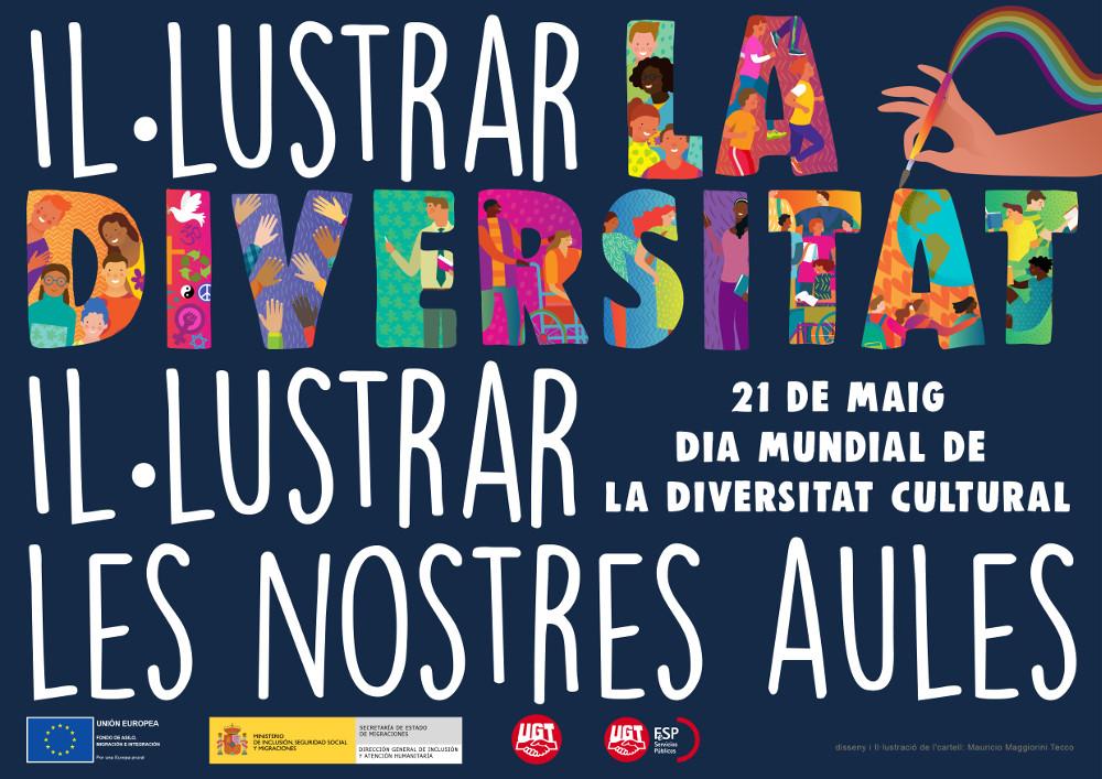 Cartel Día de la Diversidad catalán