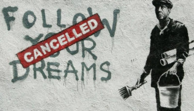 la pintada follow your dreams con el cartel cancelled