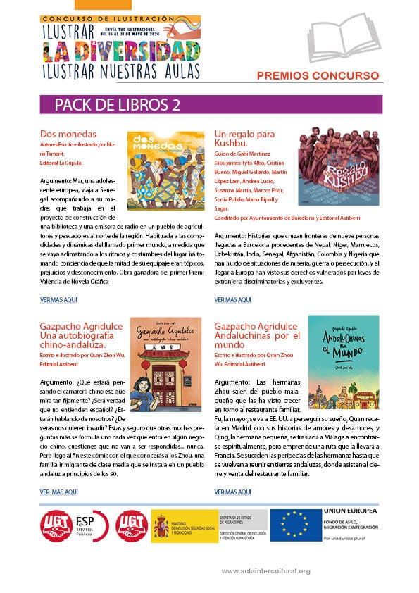 Pack libros premio 1