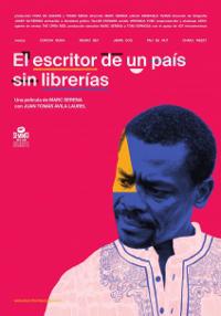 Cartel del documental El escritor de un país sin librerías