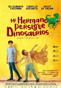 Cartel de la película Mi hermano persigue dinosaurios
