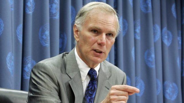 El Relator de la ONU, Philip Alston