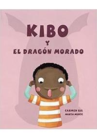 Portada del libro Kibo y el dragón morado