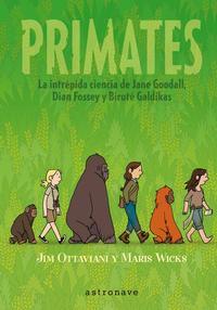 Portada del cuento Primates