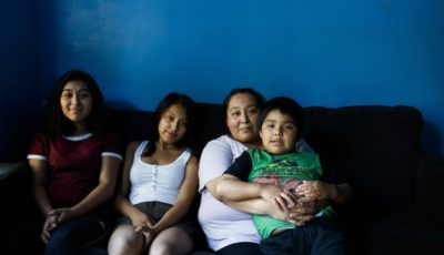 familia del detenido