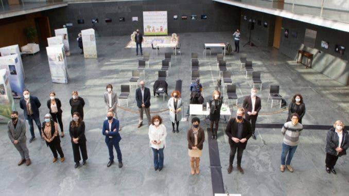 Los integrantes de la Plataforma
