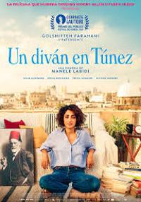 Cartel de la película Un diván en Túnez
