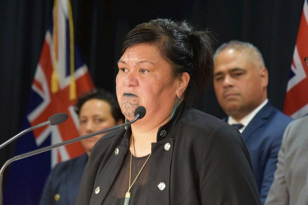 Imagen de Nanaia Mahuta, ministra de Exteriores neozelandesa