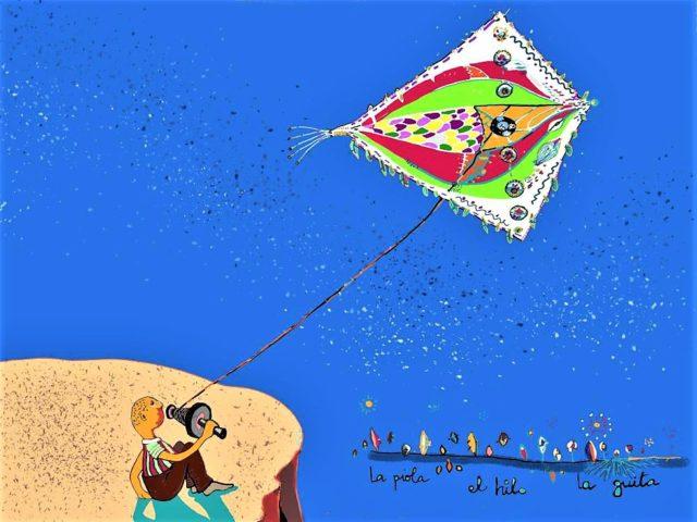 Ilustración La piola, el hilo, la guita