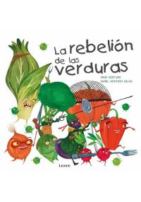 Portada del cuento La rebelión de las verduras
