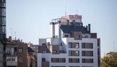 imagen de un edificio de pisos en aquiler