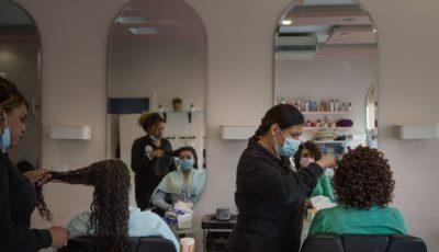 Una peluquería en El Cairo