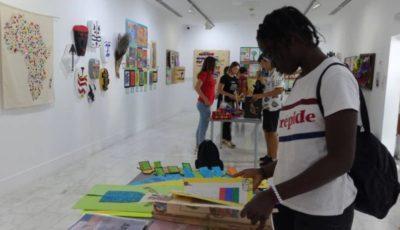 imagen de la exposición sobre África