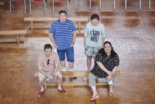 profesores de un colegio de Navarra
