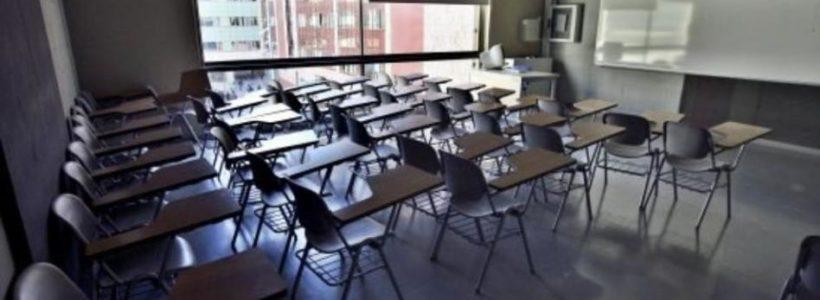una clase vacía