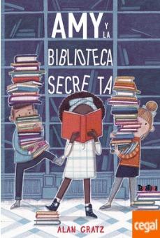 Portada del libro Amy y la biblioteca secreta