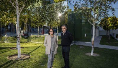 Los arquitectos De la Puerta y Campo